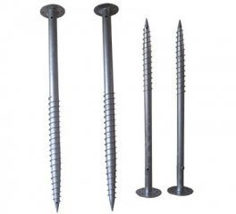Hot-Dipped Galvanized Q235 Ground Screw Pile