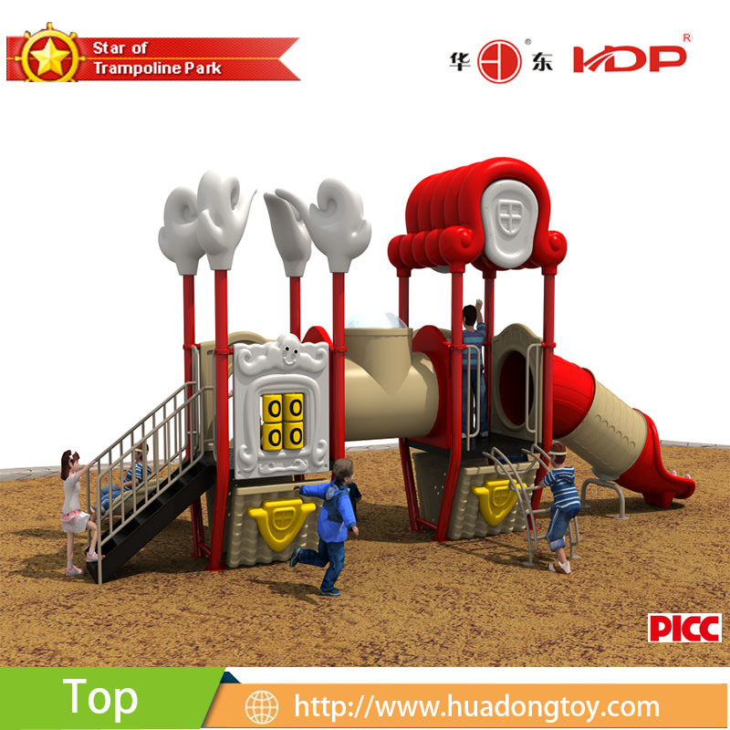 2017 Outdoor Playground Equipment Slide Kids Dream Xiangyun House Serise (HD17-022B)