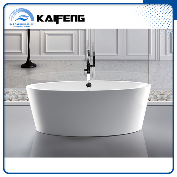 Large Free Standing Oval Shape Bathtub (KF-728)