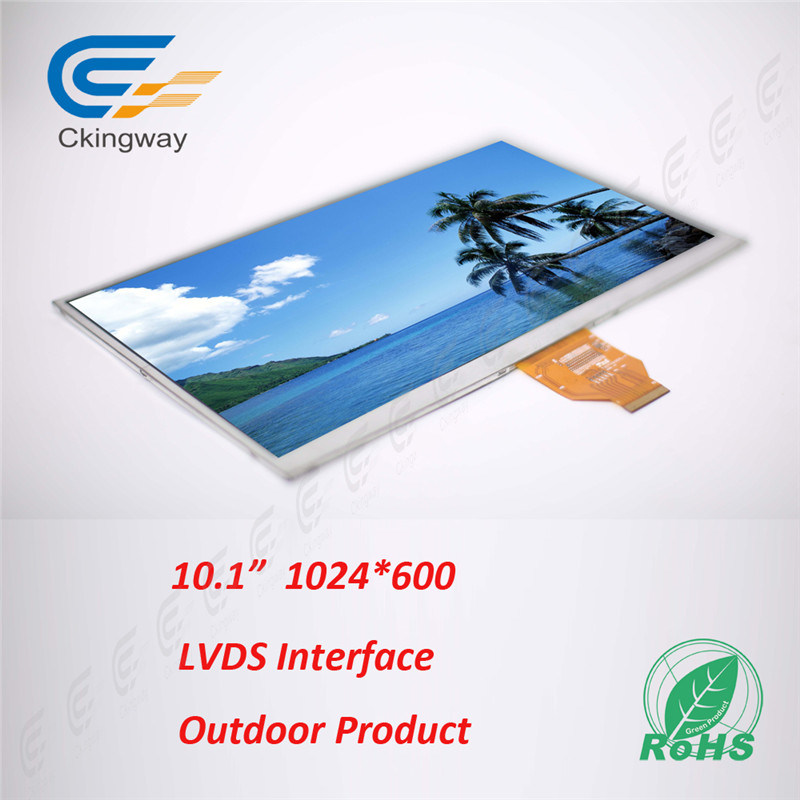 10.1 Inch Contrast Ratio 700 Cr TFT LCD LCM