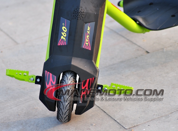 250W 36V Lithium Battery Kids 3 Wheel Electric Drift Trike Sliding Tricycle
