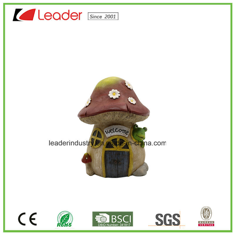 Decorative Flower Mushroom Fairy Garden Miniature for Home and Garden Decoraiton