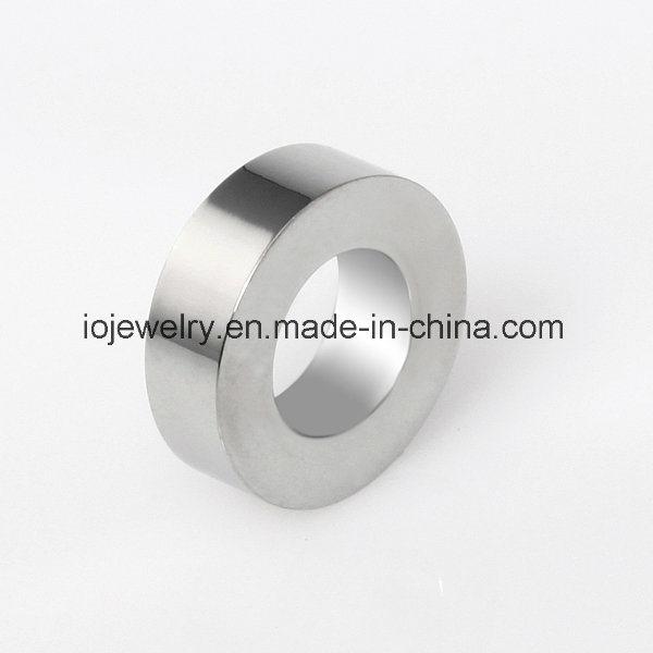Plain Metal Logo Engraving Beads Custom Jewelry
