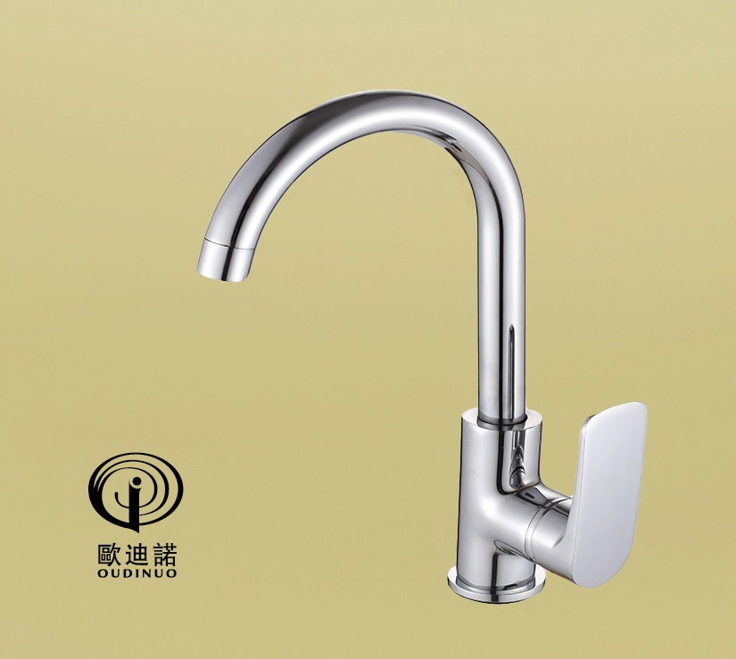 Single Handle Bath-Tub Mixer with Chrome Finishing 67213