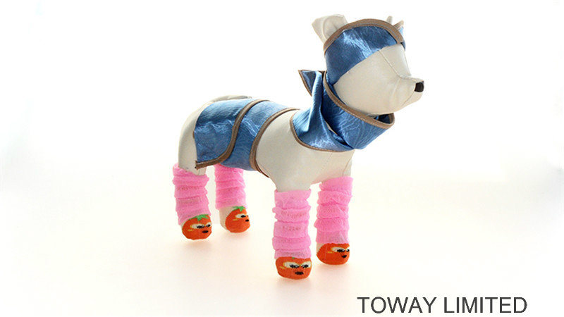 Design Cute Customize Pet Socks Knitting Dog Legs Wear