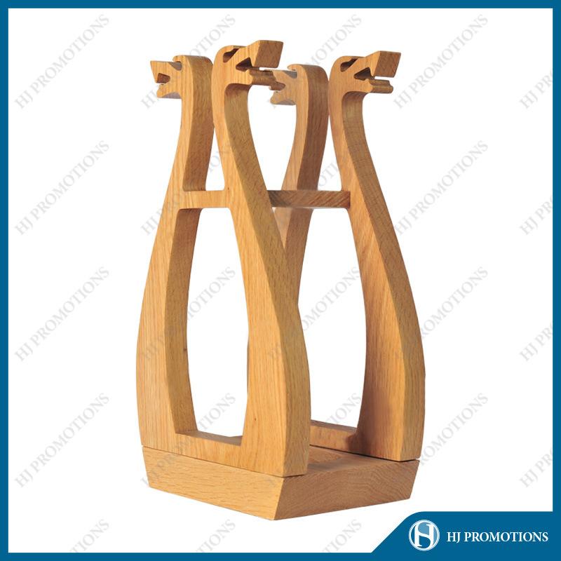Retro Style Wooden Liquor Bottle Box (HJ-PWTY01)