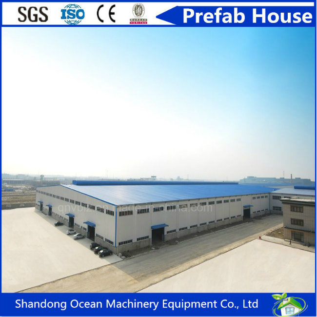 Low Budget Customized Poultry Shed of Steel Structure with Modern Design