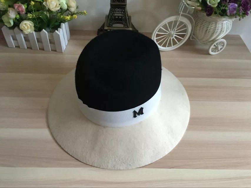 Wool Felt Colourful Gentleman Hat with Logo Customed Cap