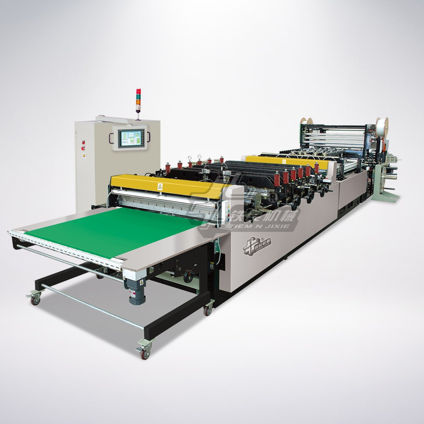 High Speed Three-Side Bag-Making Machine (Three-side-seal, Standing pouchand zipper bag) HD-1250ull