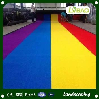 Colorful DIY Kindergarten Decoration Playground Grass Floor