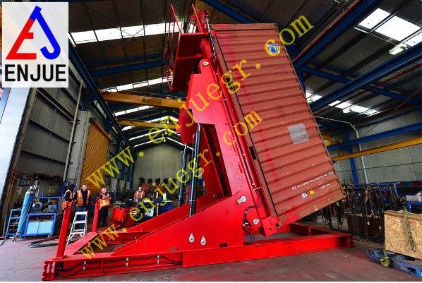 Container Tilter with Hydraulic System Manufacturer From China