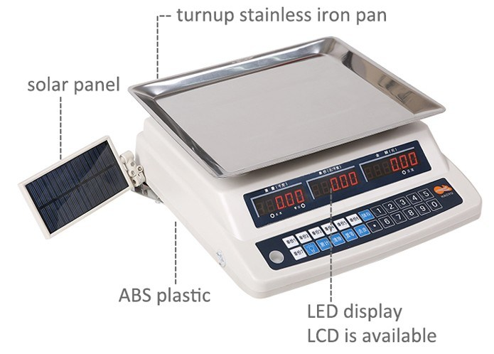 Hy-888 China Solar Panel Electronic Price Computing Scale