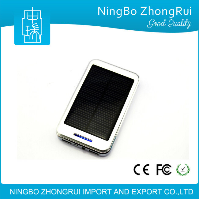 LED Light Solar Powerbank Solar Charger Powerbank Waterproof Solar Power Bank 8000mAh