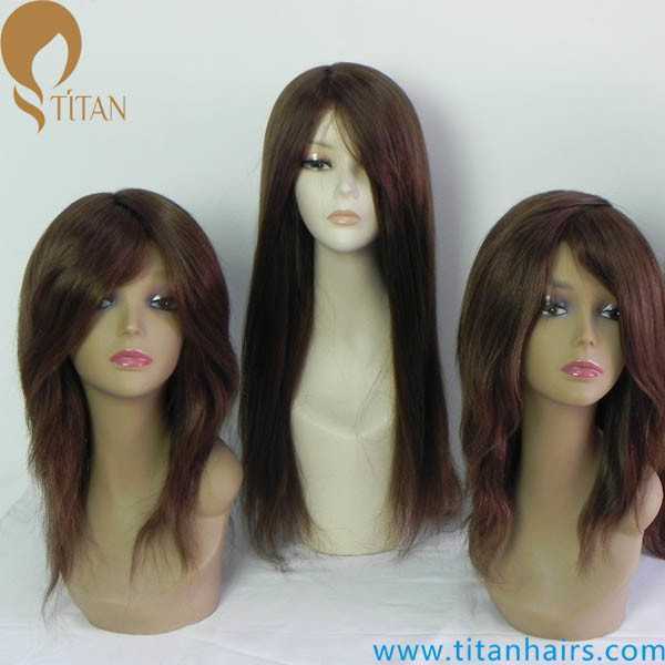 Best Quality Virgin Human Hair Replacement Wigs for Women