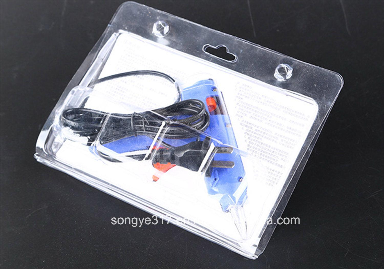 PVC Plastic Gun Blister Cover