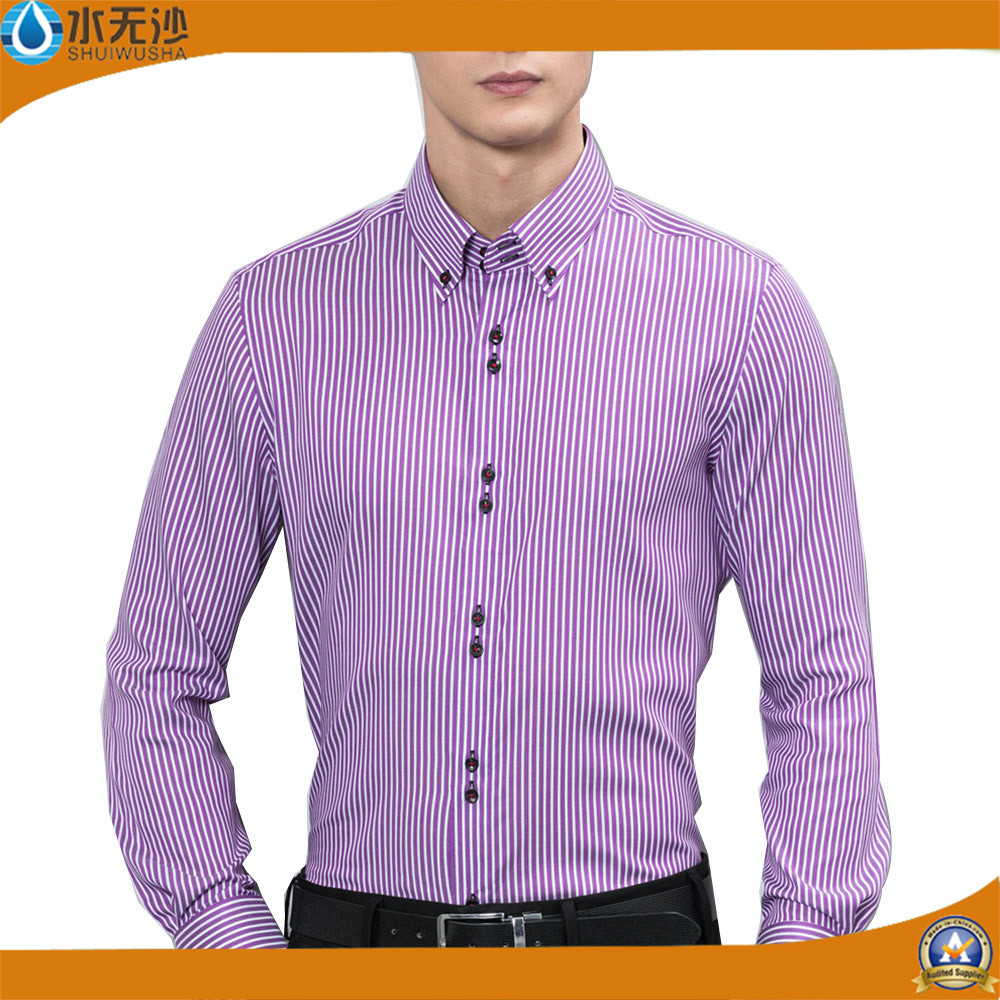 Factory OEM Men Dress Shirts Cotton Casual Shirts