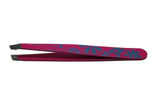 High Quality Painting Eyebrow Tweezers Slanted Tips Js15307