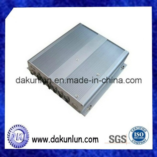 Custom Plastic/Aluminum Box, Instrument Case, Injection Molding Part