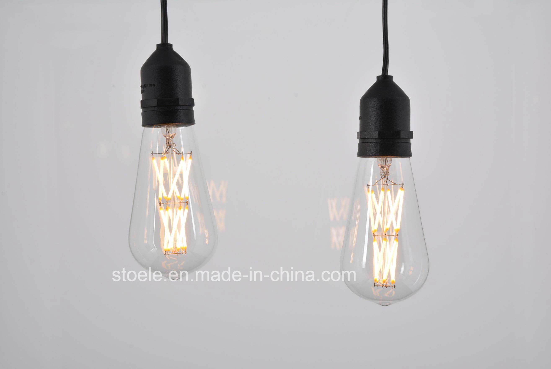 Stoele St18/St58 110V/220V Dimmable LED Filament Bulb Tawny Bulb