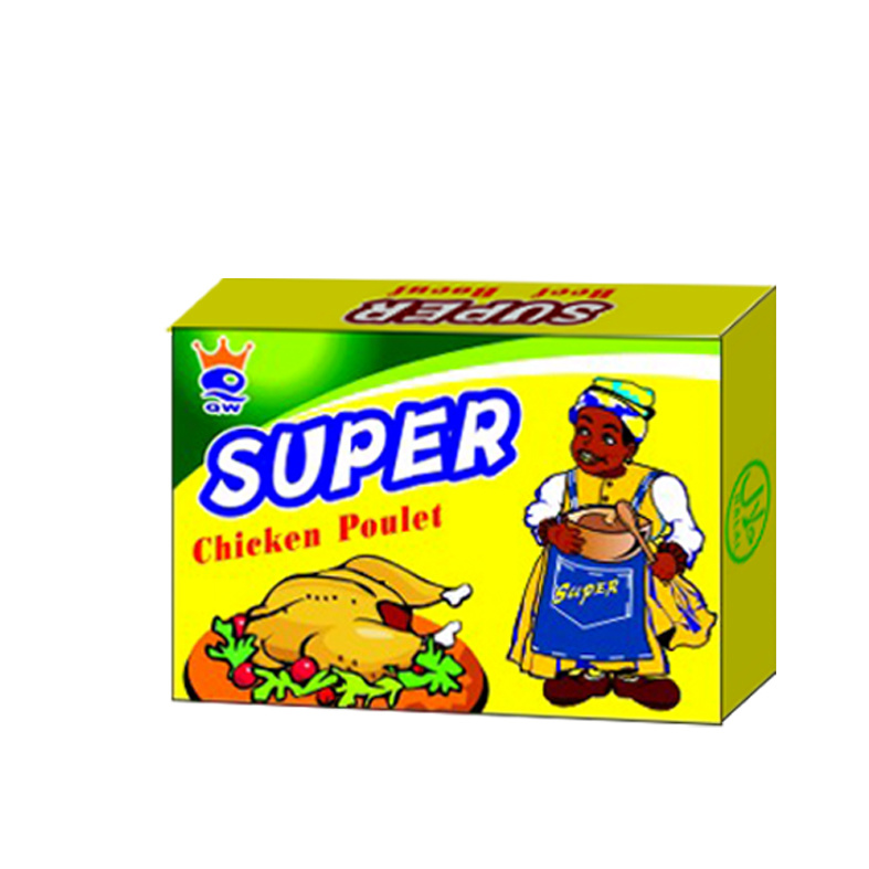 Super Chicken drinks the Super
