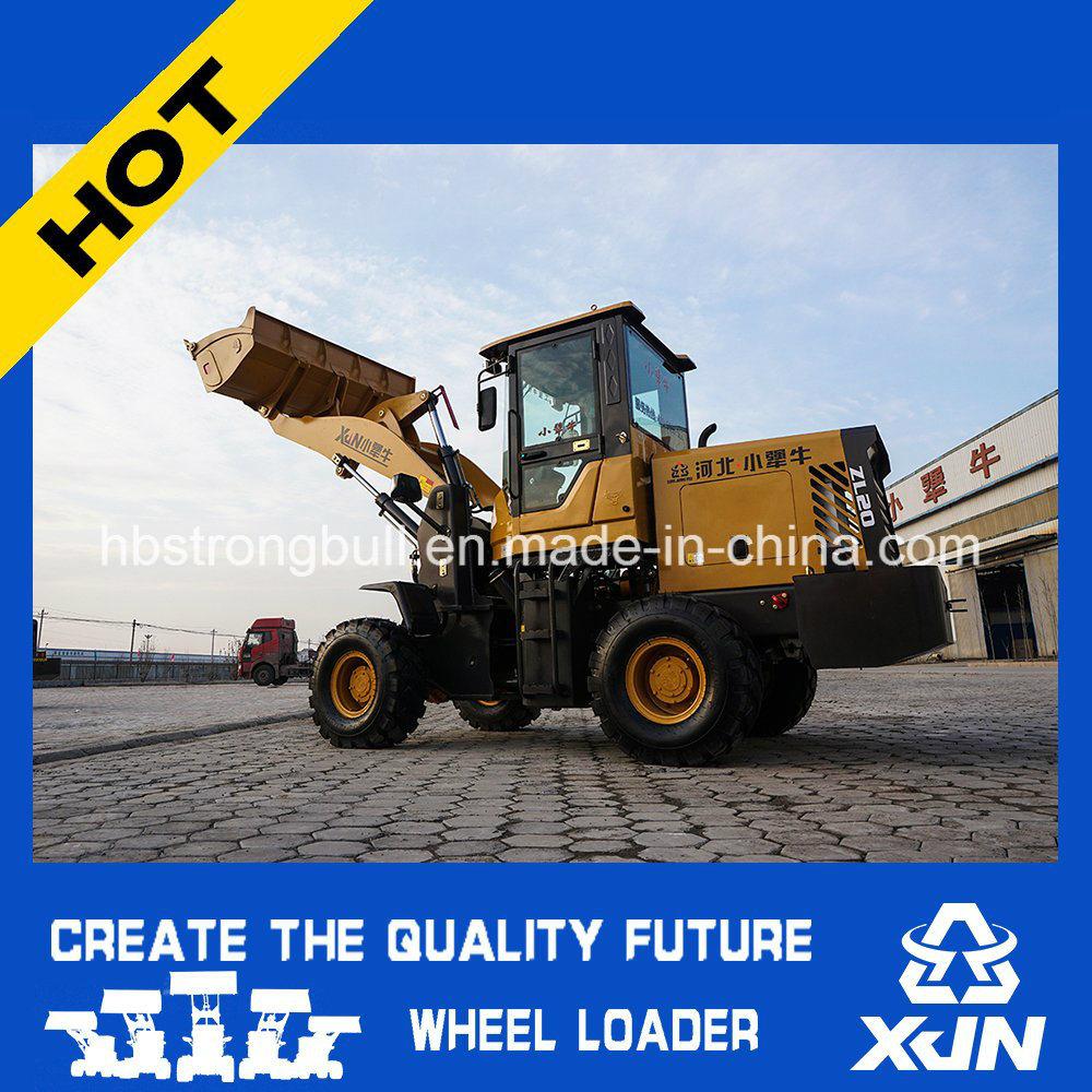 1.6ton 0.8m3 Bucket Capacity Wheel Loader Mini Loader Small Tractor Zl20