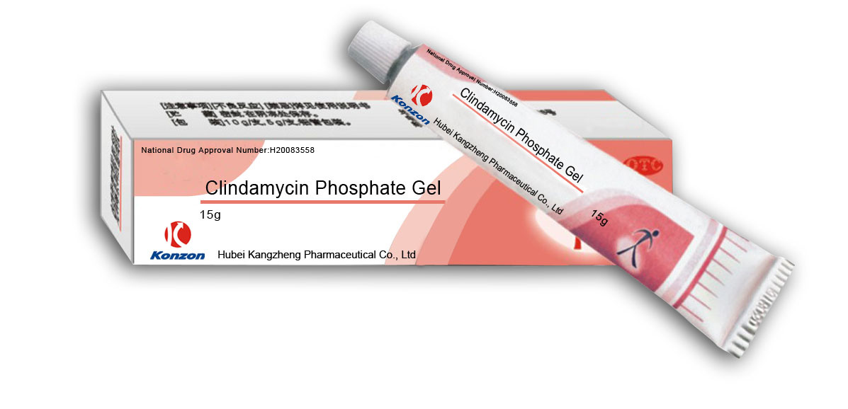 China Clindamycin Phosphate Gel - China Gel, Acne