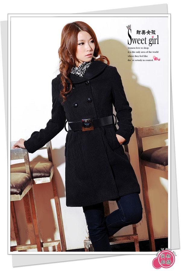 معطف الشتاء Fashion-Cashmere-Coa