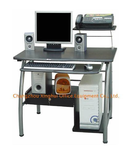 China small computer desk computer table c 40c china for Table ordinateur