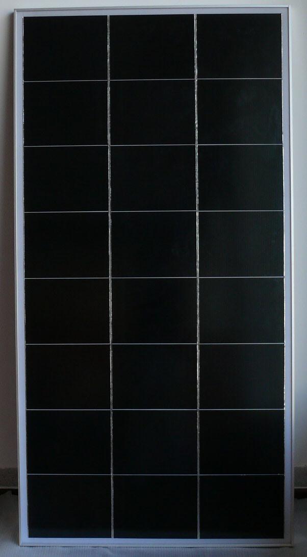 China Cis Solar Panel 120w China Solar Panel Solar Module