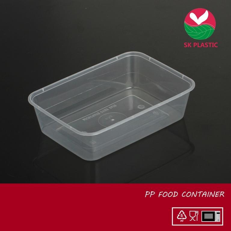 Rectangular Plastic Food Container (SK 650)