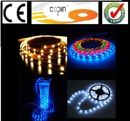 Smd5050 Flexible Led Strips Rope Lighting Rgb Warm White
