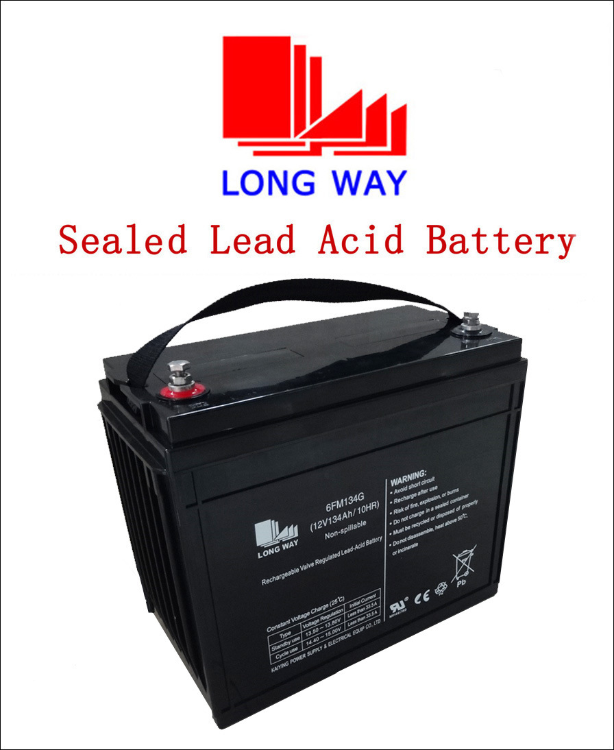 12volt Telecom Systems Rechargeable Lead Acid Battery 134ah