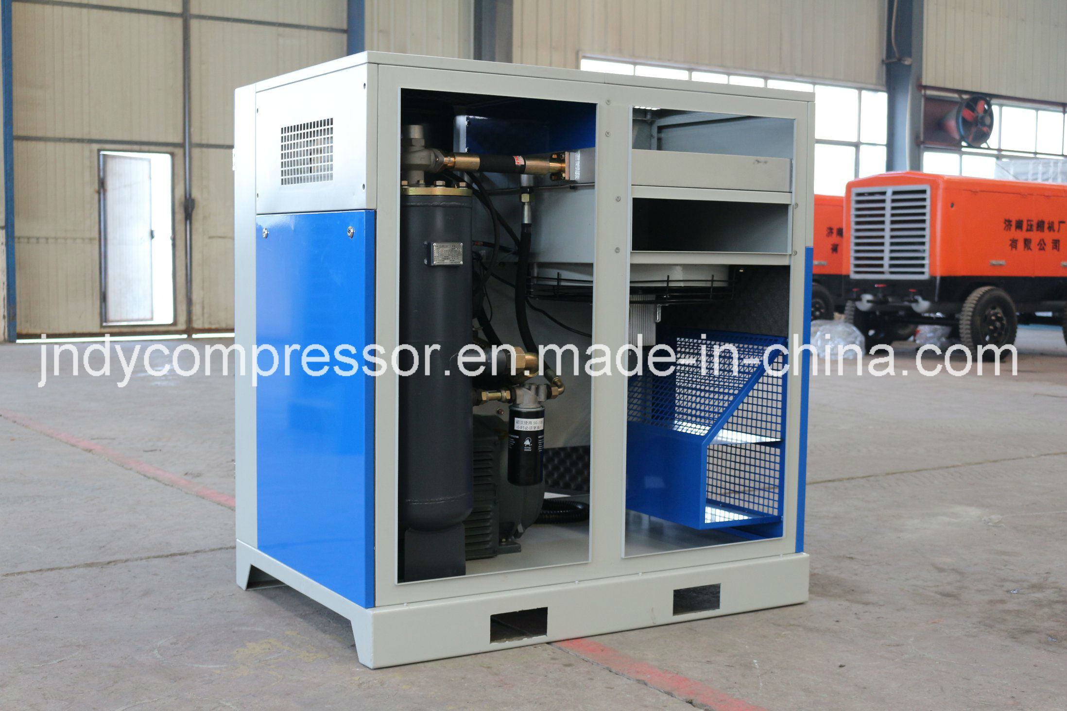 Air Cooled Screw Type Air Compressor