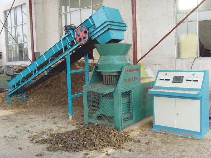 Briquette press machine china biomass