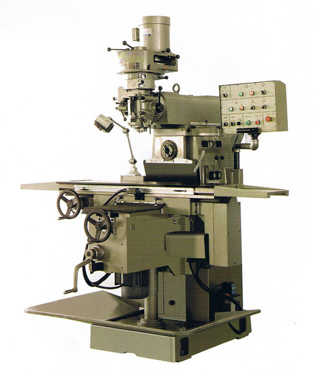 universal vertical and horizontal milling machine