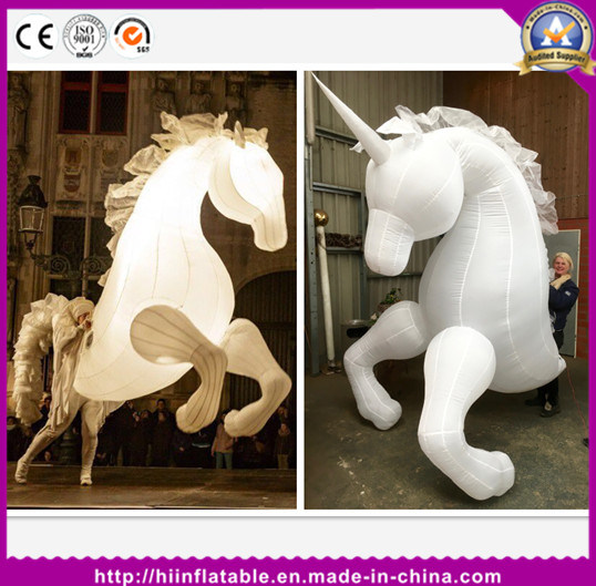 Customized New Design Mobilizable Funny Inflatable Horse Costume