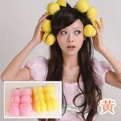 Mushroom Shaped Hair Curling Sponge Ball (HC-452)