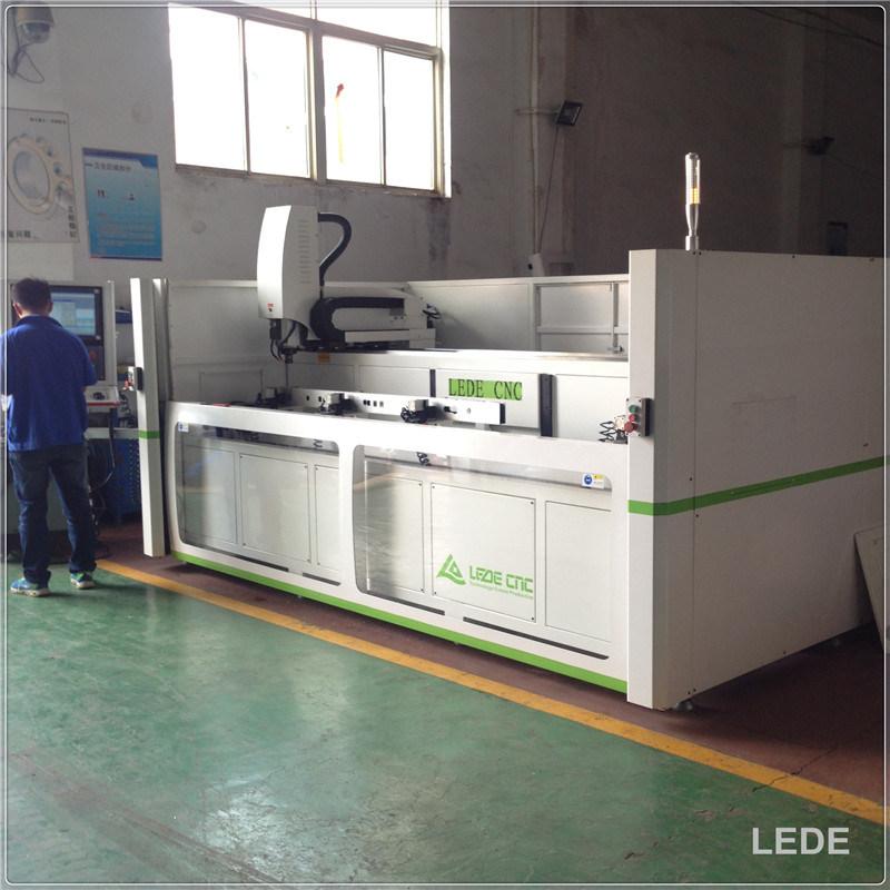 Aluminum Window Automatic CNC Drilling-Milling Machine Emrald T140