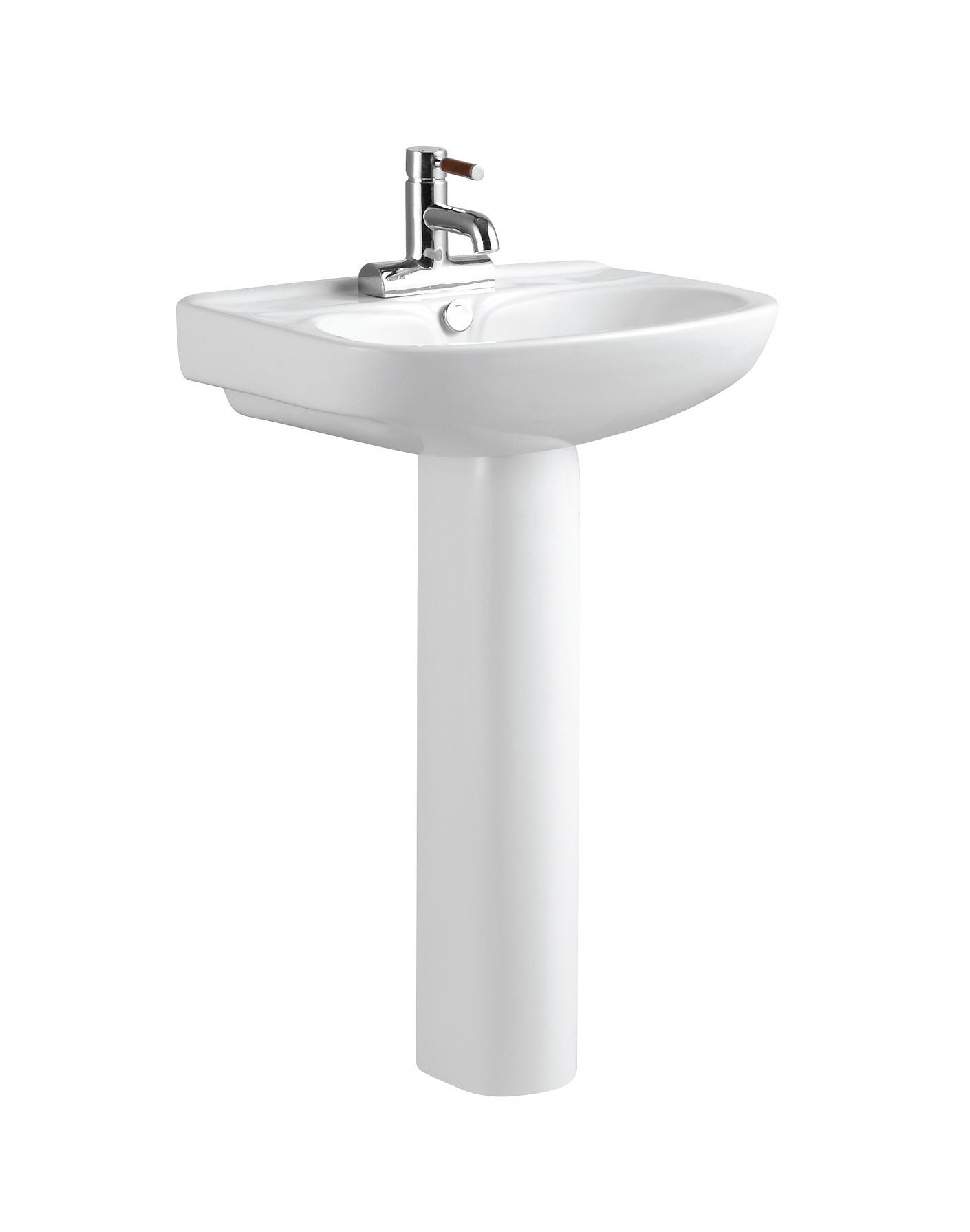 Pedestal Hand Basin : ... Wash Hand Basin With Pedestal C11023 - China Toilet Basin, Wash Basin
