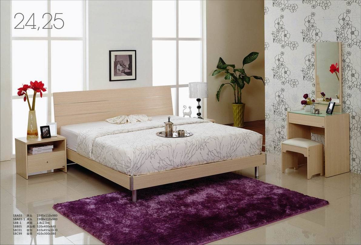 China Bedroom Furniture SET S8A03 China Bedroom Furniture Bed