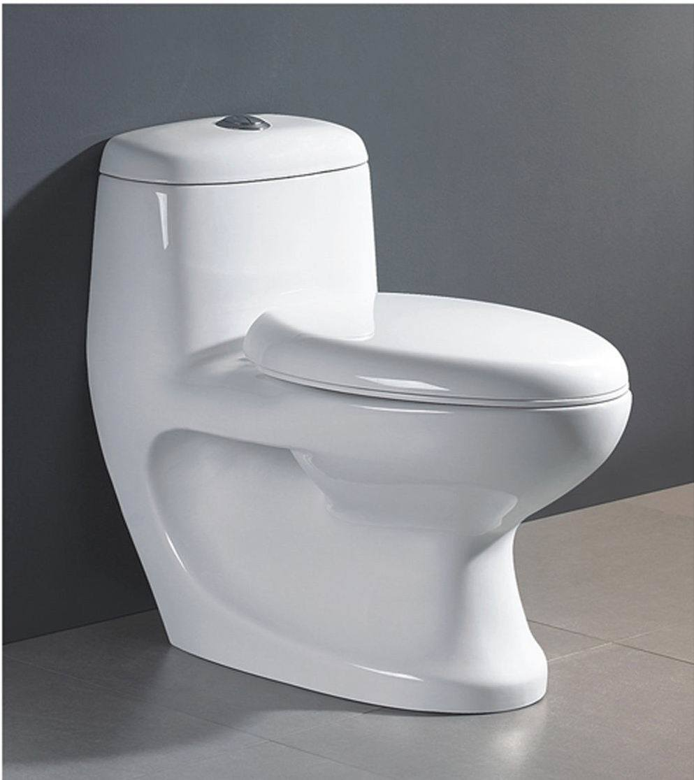 china one piece toilet hm 2009 china toilet water closet. Black Bedroom Furniture Sets. Home Design Ideas