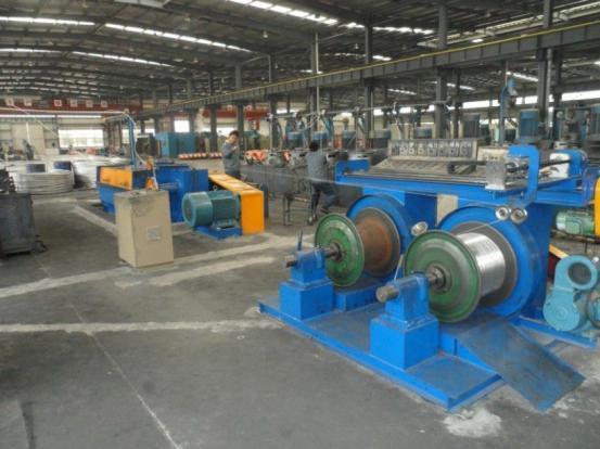High Speed Copper/Aluminium Rod Breakdown Machine
