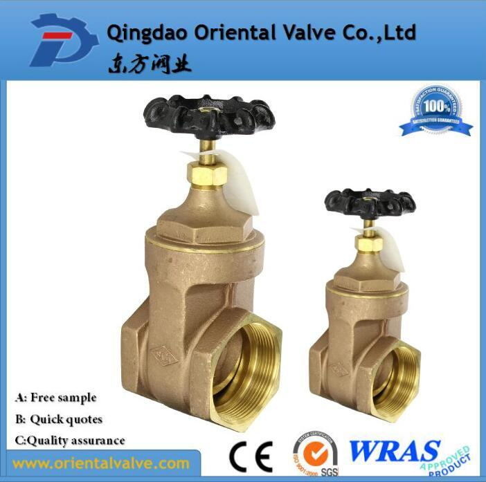 Hot Sell ISO228 Double Union Brass Gate Valve Full Brass, Pn16