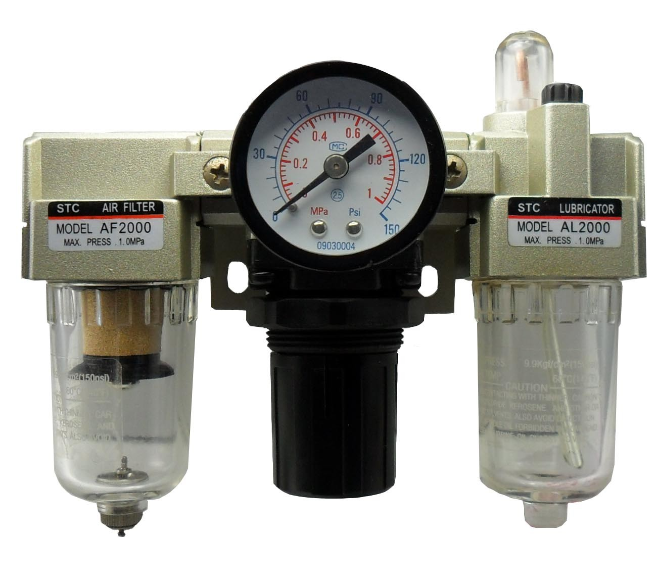 China STC Air Filter Regulator Lubricator (AC1000-500 Series) - China ...