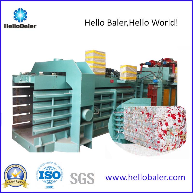High Capacity Auto Tying Waste Paper Pressing Machine