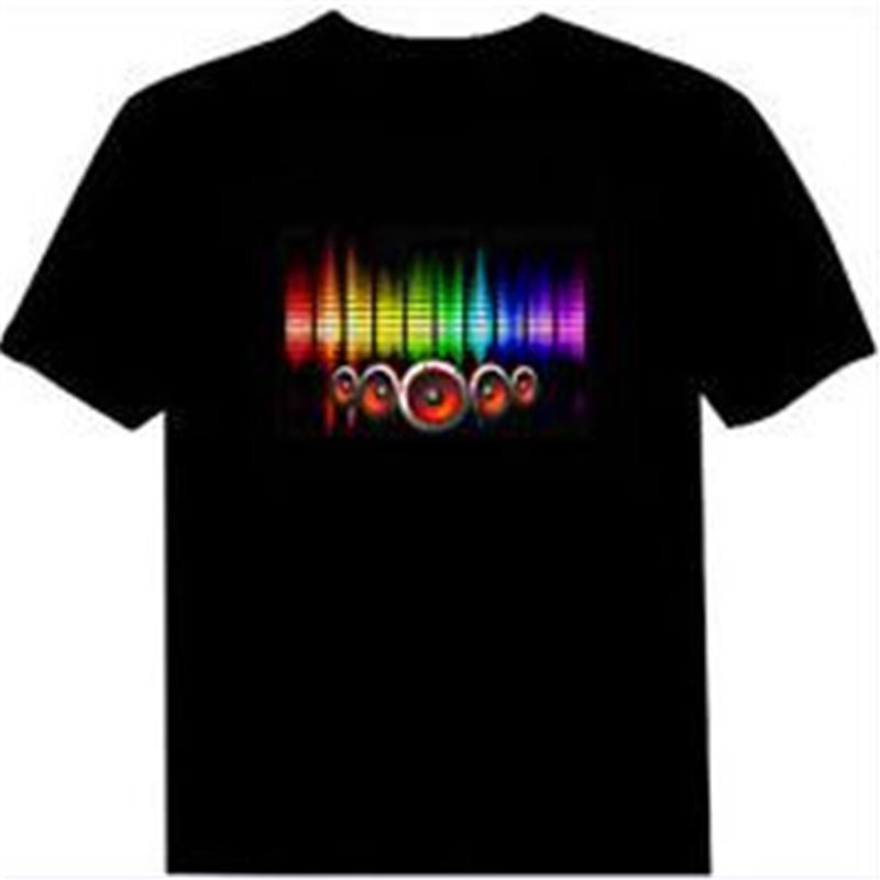 Sound Activated Spectrum Vu Meter Visualizer T-Shirt