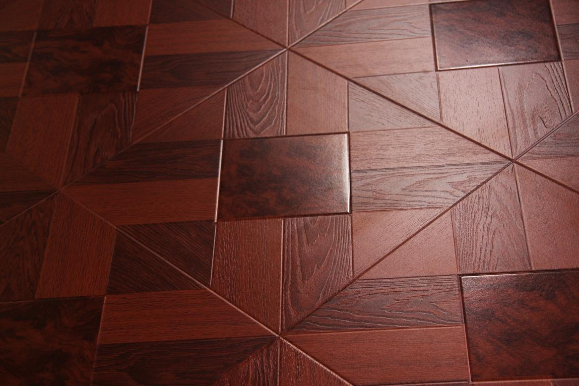 China Luxury Laminate Flooring Registered Embossed New