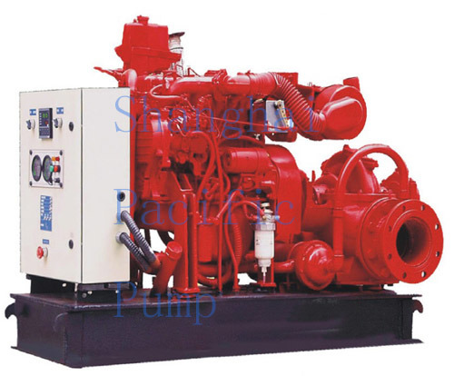 Xbc/Tpow Horizontal Split Casing Diesel Fire Pump