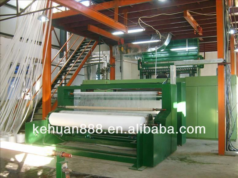 2.4m Triple S Type PP Spun Bond Non Woven Fabric Making Machine