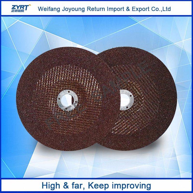 Flat Shape Metal Cutting Disc, Grinding Disc, Abrasive Cutting Disc